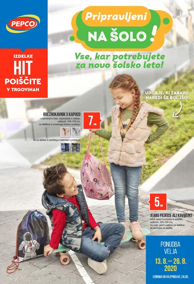 Pepco katalog Pripravljeni na šolo