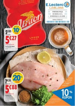 E Leclerc katalog Ljubljana do 11. 10.