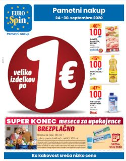 Eurospin katalog do 30. 9.