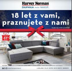 Harvey Norman katalog 18 let z vami