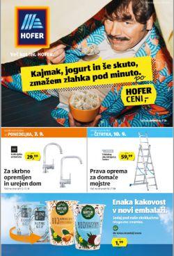 Hofer katalog od 4. 9.
