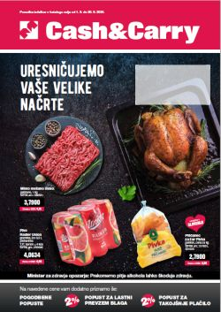Mercator katalog Cash&Carry september