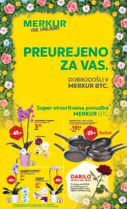 Merkur katalog Otvoritvena ponudba BTC do 28. 9.