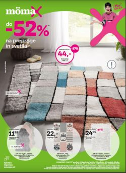 Momax katalog Do – 52 % na preproge in svetila