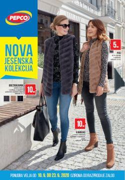 Pepco katalog Nova jesenska kolekcija