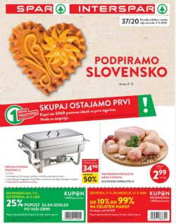 Spar in Interspar katalog do 22. 9.