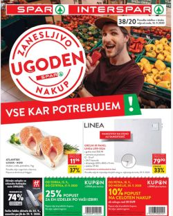 Spar in Interspar katalog do 29. 9.