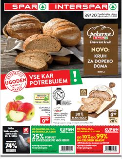 Spar in Interspar katalog do 6. 10.