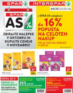Spar in Interspar katalog do 13. 10.