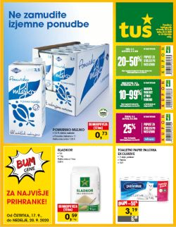 Tuš katalog trgovine in franšize do 22. 9.