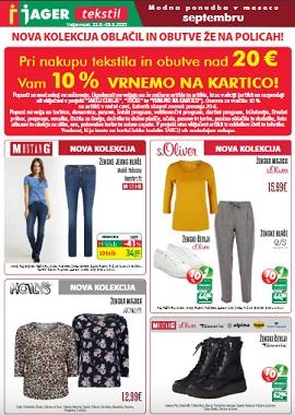 Jager katalog tekstil do 29.9.
