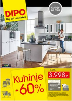 Dipo katalog Kuhinje do – 60 %