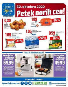 Eurospin petek norih cen 30. 10.