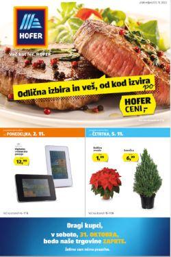 Hofer katalog od 30. 10.