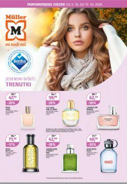 Muller katalog Parfumerija do 17. 10.