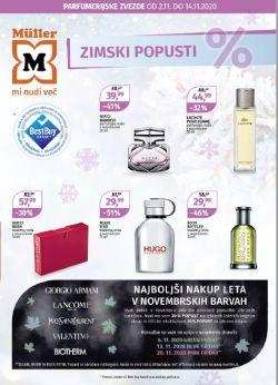 Muller katalog Parfumerija do 14. 11.
