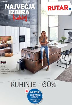Rutar katalog Kuhinje do – 60 % do 26. 10.