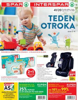 Spar in Interspar katalog do 20. 10.