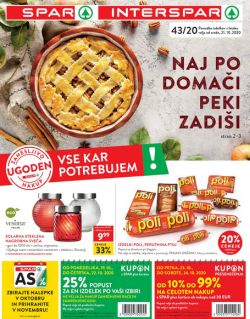 Spar in Interspar katalog do 3. 11.