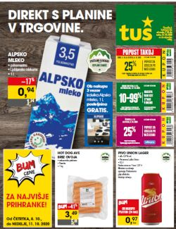 Tuš katalog trgovine in franšize do 13. 10.