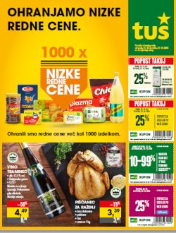 Tuš katalog trgovine in franšize do 27. 10.
