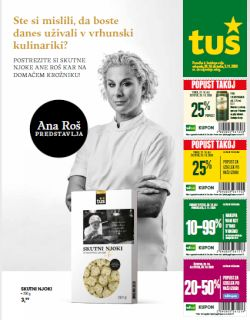 Tuš katalog trgovine in franšize do 3. 11.