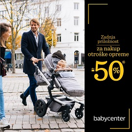 Baby Center katalog Otroška oprema do -50%