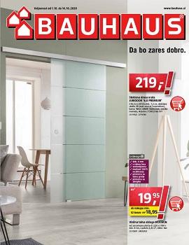 Bauhaus katalog Oktober 2020