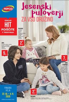 Pepco katalog Jesenski puloverji