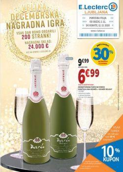 E Leclerc katalog Ljubljana do 12. 12.
