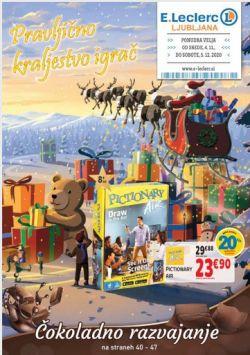 E Leclerc katalog Ljubljana Igrače do 14. 11.