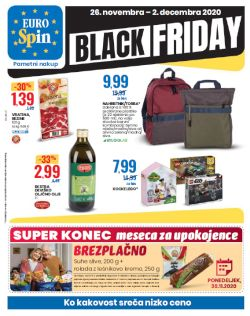 Eurospin katalog Black Friday do 2. 12.