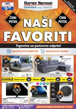 Harvey Norman katalog Naši favoriti do 26. 11.