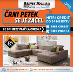 Harvey Norman katalog Črni petek do 2. 12.