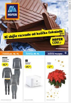 Hofer katalog od 14. 11.