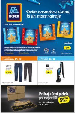 Hofer katalog do 26. 11.