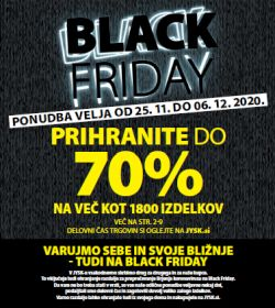 JYSK katalog Black Friday do 6. 12.