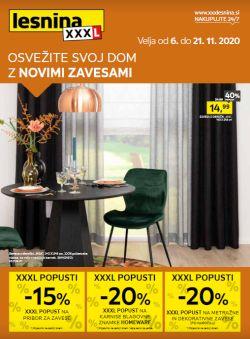 Lesnina katalog Nove zavese do 21. 11.