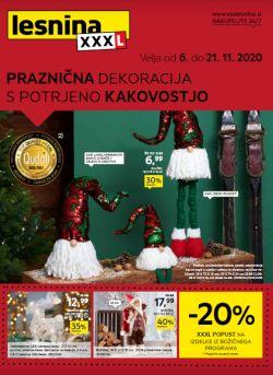 Lesnina katalog Praznična dekoracija do 29. 11.