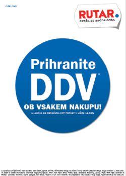 Rutar katalog Prihranite DDV do 16. 11.