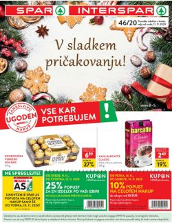 Spar in Interspar katalog do 24. 11.