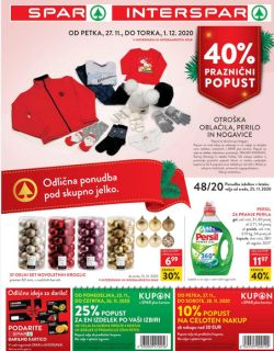 Spar in Interspar katalog do 15. 12.