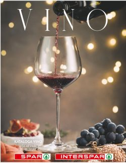 Spar in Interspar katalog Vino do 31. 12.