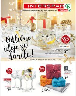 Spar in Interspar katalog Odlične ideje za darila