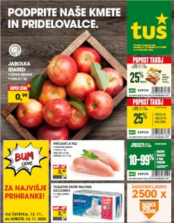 Tuš katalog trgovine in franšize do 17. 11.