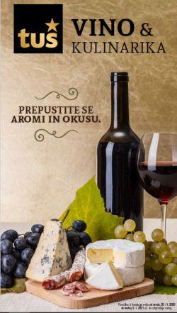 Tuš katalog Vino in kulinarika