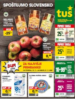 Tuš katalog trgovine in franšize do 24. 11.