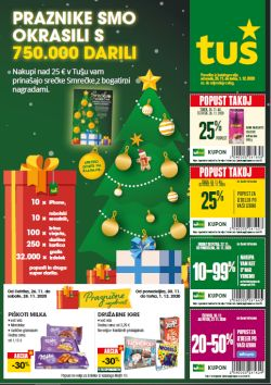 Tuš katalog trgovine in franšize do 1. 12.