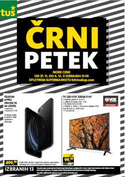 Tuš katalog Črni petek do 4. 12.