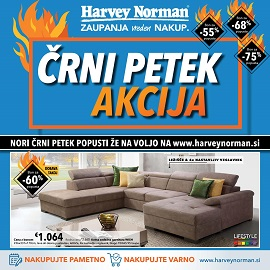 Harvey Norman katalog Črni petek do 2.12.